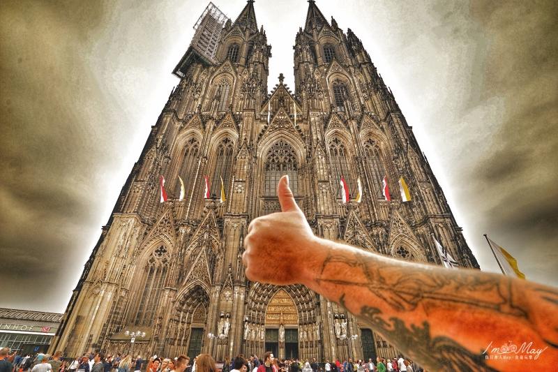 德國 | 科隆大教堂Kölner Dom。德國必訪超級觀光景點、世界文化遺產 (德國最大教堂/交通超方便/圖多) @偽日本人May.食遊玩樂