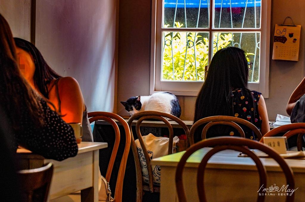 台北、中山 | 隱密巷弄民宅裡的老宅咖啡「疍宅Eg ghost (搗蛋鬼工作室)」| 捷運行天宮站、平日不限時、每日限量手作甜點 @偽日本人May.食遊玩樂