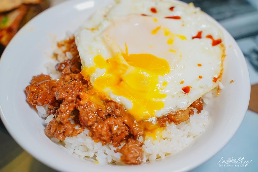 花蓮、吉安 | 日式老宅裡的古早味小吃 : 吉野宮前「西村的家 食堂」超美味銷魂肉燥飯+半熟荷包蛋,滷味也很好吃 (有分葷素) | 食尚玩家推薦、花蓮隱藏版美食 @偽日本人May.食遊玩樂