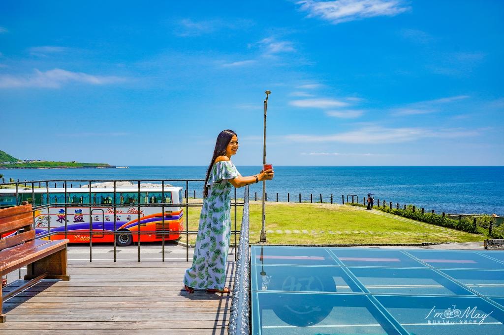 新北、瑞芳 | 無論晴日雨天,每一天都是看海的好日子「好好基地 HOHObase」| 八斗子貨櫃屋咖啡廳、海景咖啡店、深澳鐵道自行車 @偽日本人May.食遊玩樂