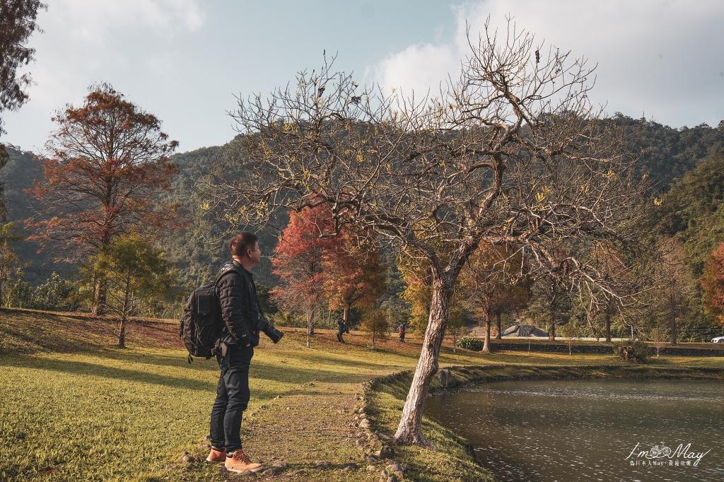 宜蘭攝影景點 | 碧綠湖光與浪漫林景相伴,媲美國外的山水祕境「蜊埤湖落羽松」| 順遊景點 : 望龍埤 (宜蘭落羽松、宜蘭景點) @偽日本人May.食遊玩樂