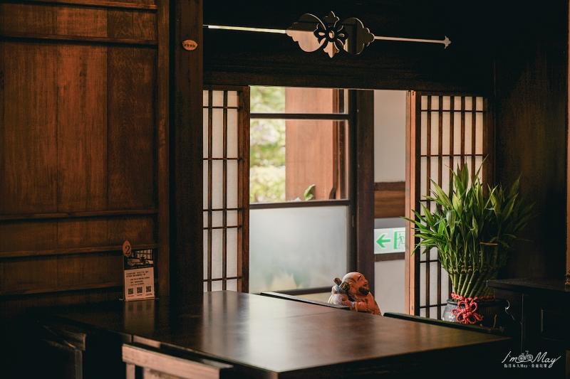 台北、南港 | 談歷史食療癒的百年古蹟、日式老屋餐廳「靜心苑」(原松山療養所所長宿舍) | 南港景點、捷運昆陽站 @偽日本人May.食遊玩樂