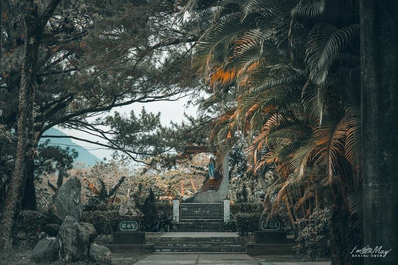 花蓮、新城 | 日本神社裡的諾亞方舟,鳥居與十字架共存的神聖信仰「新城神社舊址、新城天主堂」| 花蓮攝影筆記、台灣神社巡禮 @偽日本人May.食遊玩樂
