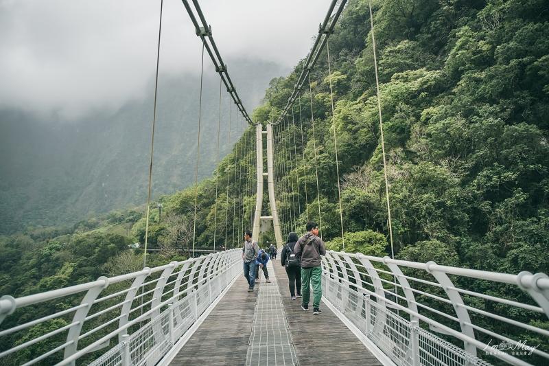 360度壯麗峽谷風景盡收眼底,花蓮太魯閣新景點「山月吊橋」| 交通資訊、開放時間、預約方式總整理 @偽日本人May.食遊玩樂