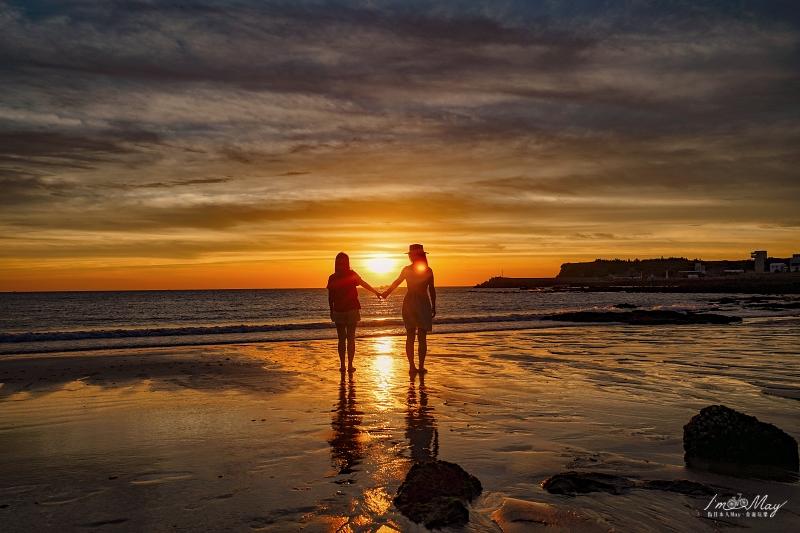 澎湖、西嶼 | 時間限定的夢幻美景,澎湖最美的夕陽攝影景點「夢幻沙灘」| 攝影建議、詳細方通方式、澎湖隱藏版IG打卡點、北環景點 @偽日本人May.食遊玩樂