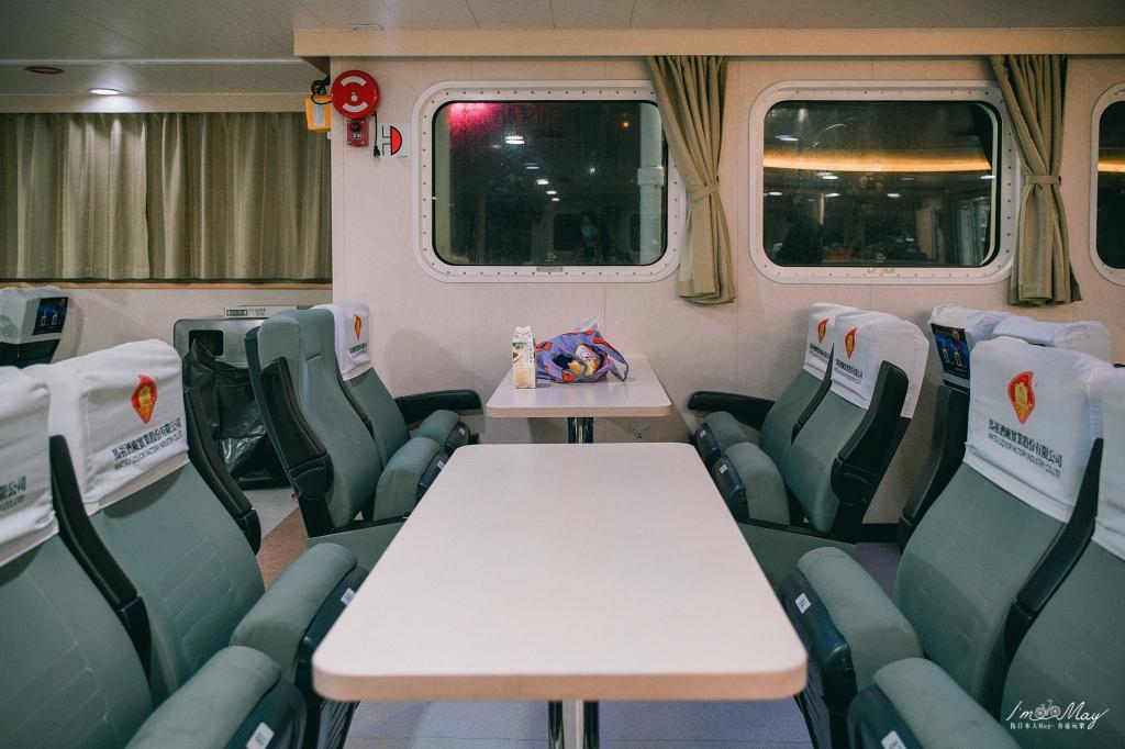 馬祖海上交通攻略 | 南竿往返東引的航程 : 台馬之星、台馬輪實際搭乘體驗 | 線上預約方式、船艙內部介紹 、經濟艙房開箱、搭乘注意事項 @偽日本人May.食遊玩樂