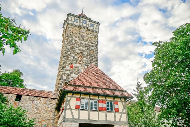 德國、羅騰堡 | 如同童話故事般的中古世紀小鎮 : 羅騰堡景點散步地圖 (Rothenburg ob der Tauber) | 羅騰堡景點總整理 @偽日本人May.食遊玩樂