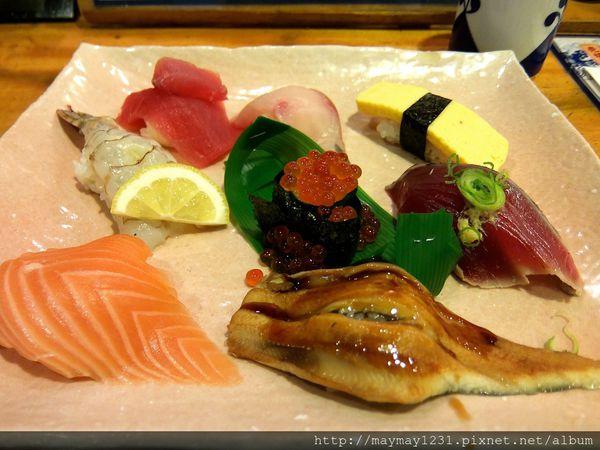 京.好食 l 魚心壽司。滿足預算不多卻又想吃新鮮生魚片的時候~到這兒就對啦(只限中午哦) ✌ @偽日本人May.食遊玩樂