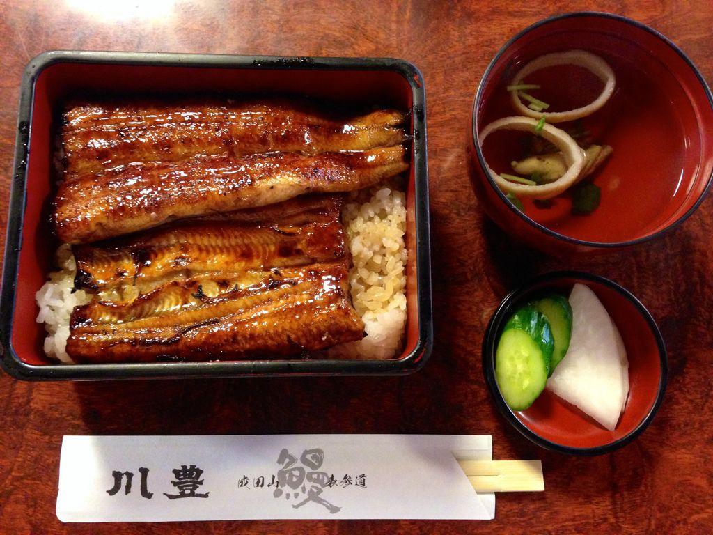 [千葉] 成田山表參道鰻魚飯名店『川豐」。讓人欲罷不能的好滋味 @偽日本人May.食遊玩樂