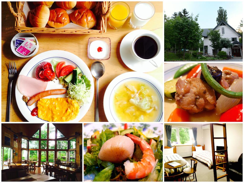 [北海道] 美瑛_丘のペンションポプラ。在民宿吃法式料理好享受 (一泊二食) @偽日本人May.食遊玩樂