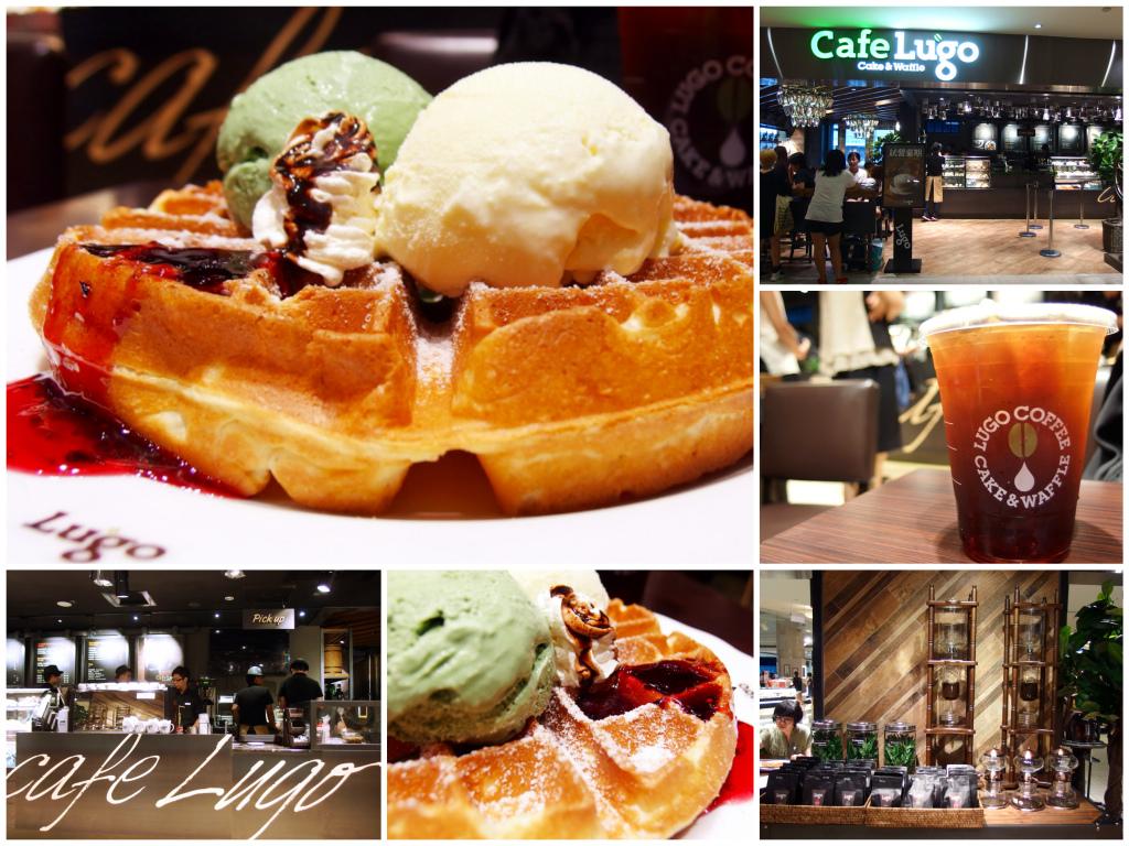 [台北] Cafe Lugo。原汁原味韓國鬆餅真道地 (搶先報!! 全台第一家就在101開幕啦) @偽日本人May.食遊玩樂