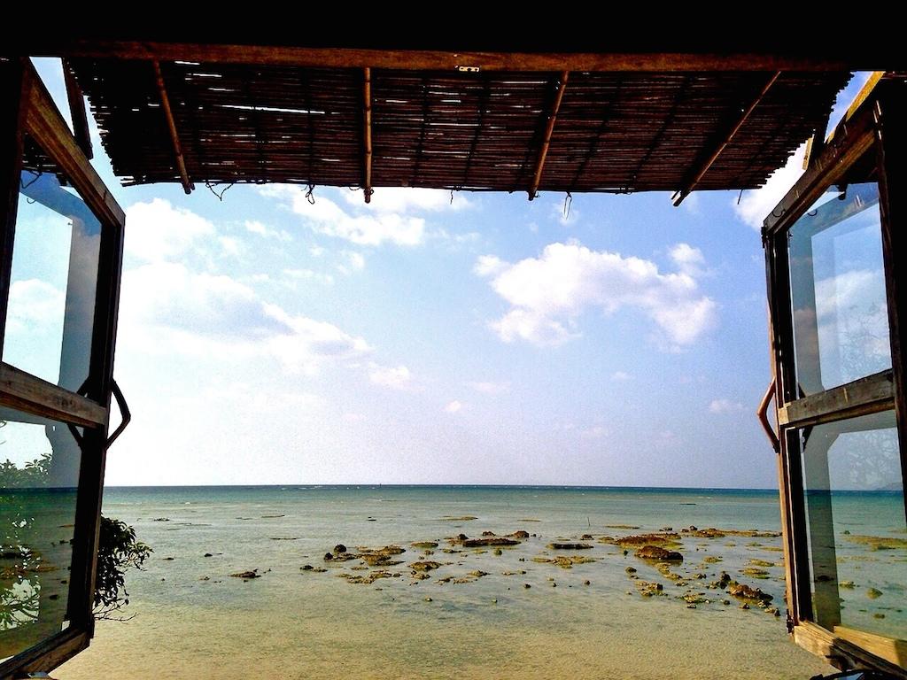 [沖繩] 浜邊の茶屋。在咖啡廳裡享受海風拂過的愜意時光 @偽日本人May.食遊玩樂
