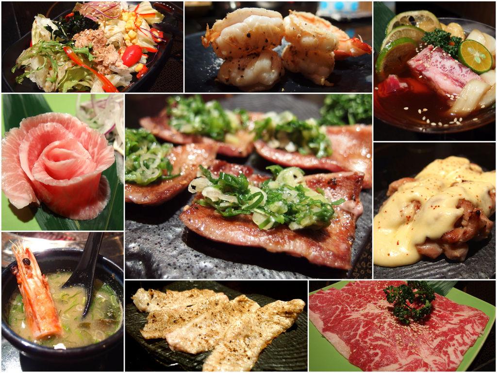[台北] 七條龍炭火燒肉(微風店)。好吃到讓人淚流滿面的絕妙燒肉啊 (頂級食材&桌邊服務) @偽日本人May.食遊玩樂