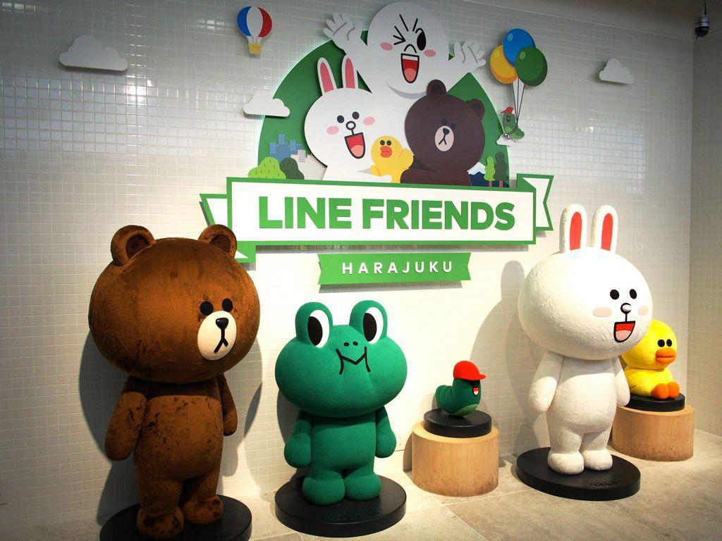 [東京] 原宿 Line Friends Store。真的會讓人情不自禁尖叫失心瘋狂買啊!!! @偽日本人May.食遊玩樂