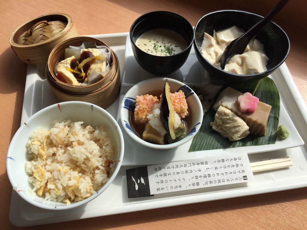 京.好食 l TOFU CAFE FUJINO。創意豆腐料理/健康輕食/素食可 (北野天滿宮) @偽日本人May.食遊玩樂