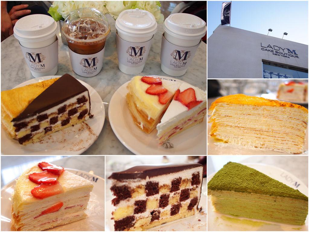 [首爾] Lady M法式千層蛋糕。好吃到想要跳舞啦~以後吃不到怎麼辦啊啊啊 (이테원역 梨泰院站) @偽日本人May.食遊玩樂