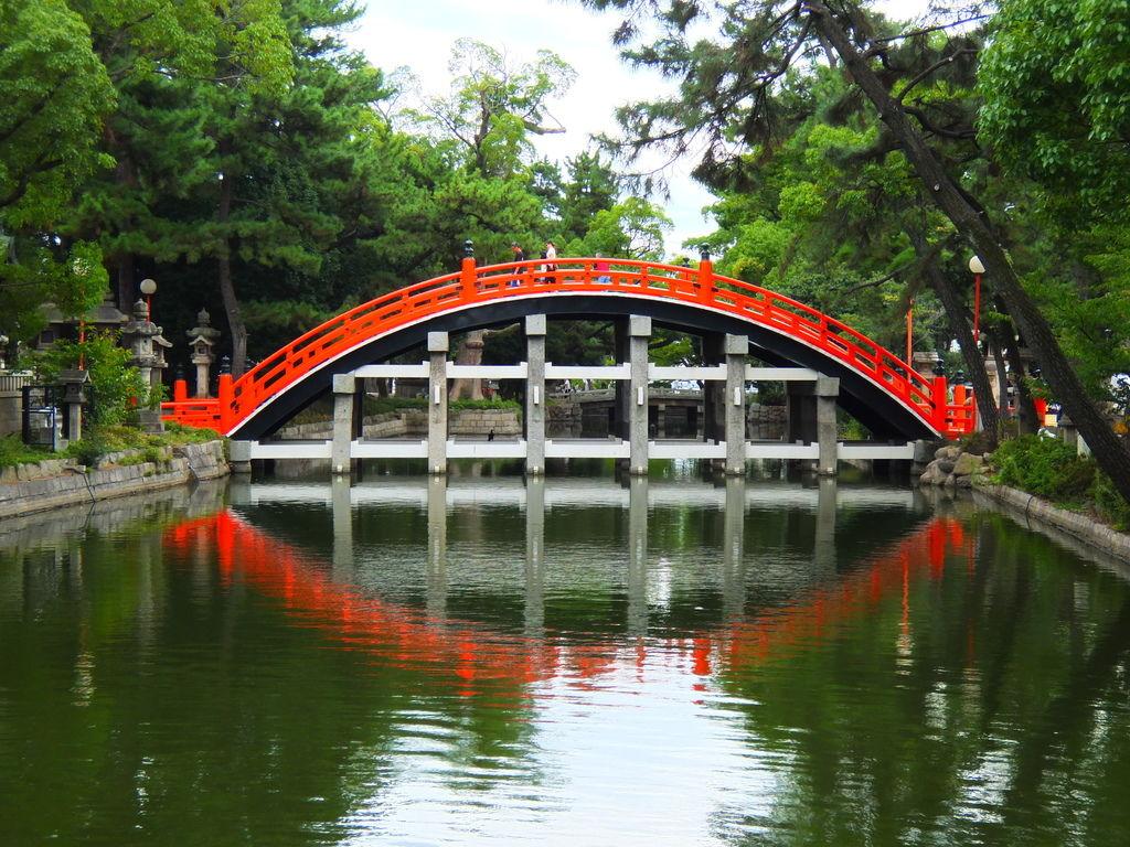 [大阪] 住吉大社。搭乘百年歷史的阪堺電車探訪大阪人的信仰中心吧 @偽日本人May.食遊玩樂