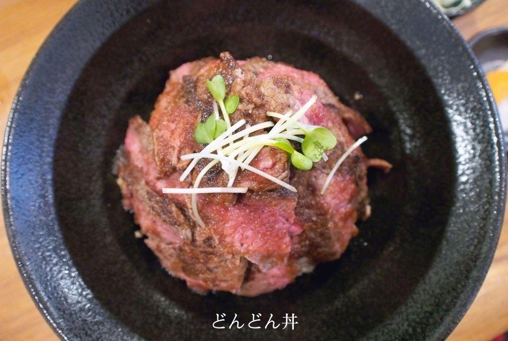 京都、好食 | どんどん丼。日本國產牛銷魂牛排丼飯 x 超油嫩和牛丼飯 (CP值超高!!一吃就上癮/近上賀茂神社) @偽日本人May.食遊玩樂