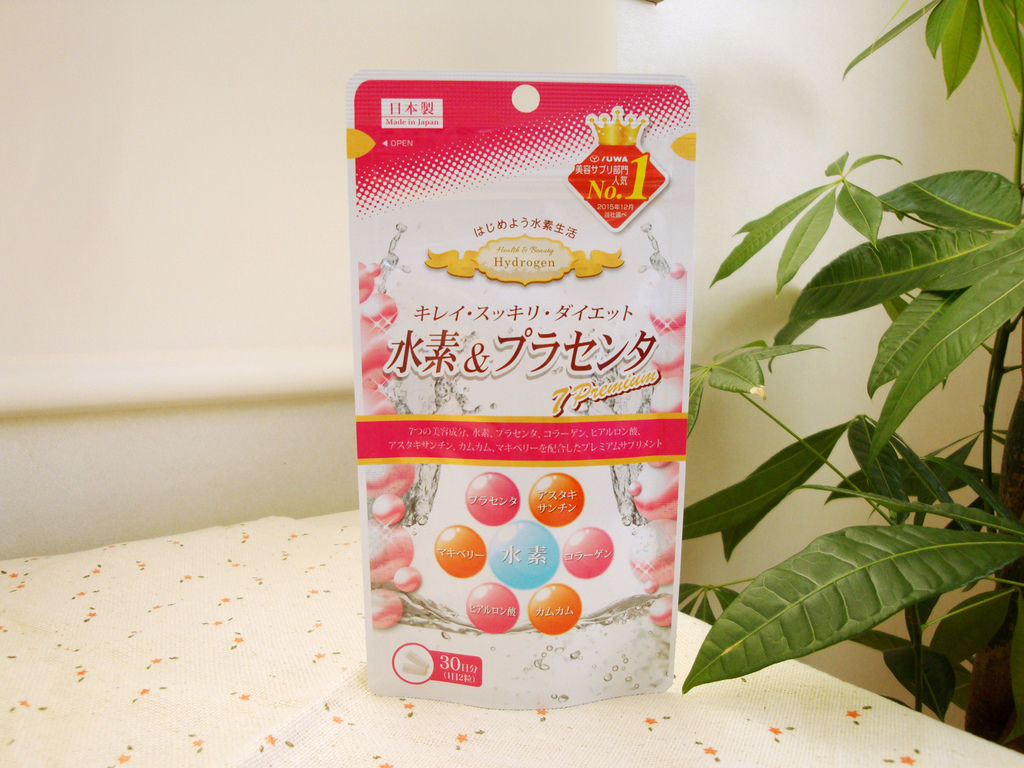 [日本好買] 連女神藤原紀香也愛用的YUWA【氫&胎盤素 7 Premium】 @偽日本人May.食遊玩樂