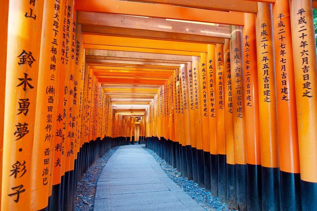 京都 | 走入千本鳥居,踏進未知的世界 | 伏見稻荷大社 (電影《藝妓回憶錄》拍攝場景) @偽日本人May.食遊玩樂
