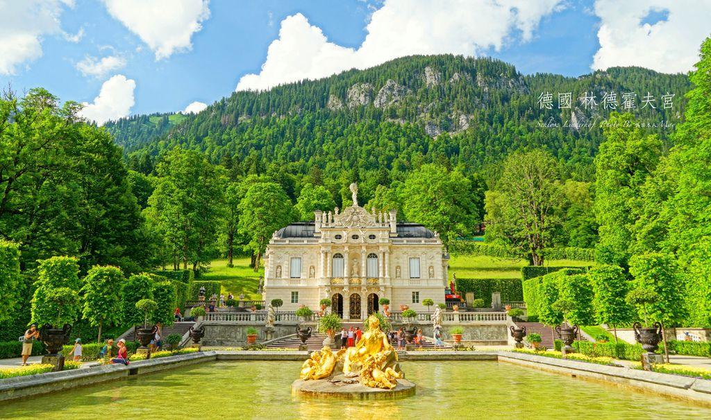 德國 | 林德霍夫宮 Schloss Linderhof。巴伐利亞童話國王的夢幻城堡 (近新天鵝堡/維斯朝聖教堂/上阿瑪高, 附交通資訊) @偽日本人May.食遊玩樂