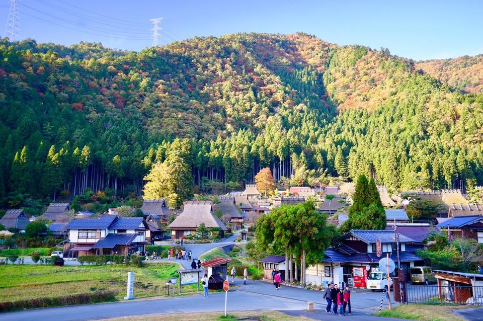 [京都] 日本三大茅葺屋根集落『美山町』。深山裡的祕境 x 遺世獨立的小村落~即使交通不便也要一訪啊!!! @偽日本人May.食遊玩樂