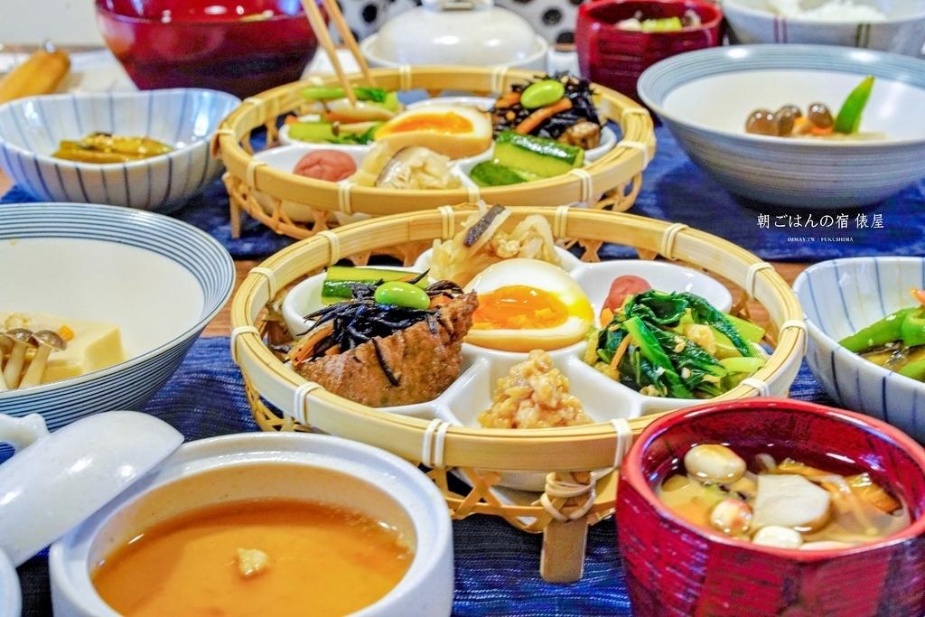福島 |  喜多方住宿推薦「朝ごはんの宿 俵屋」。美好的一天,就從能讓人充滿活力的豐盛早餐開始 @偽日本人May.食遊玩樂