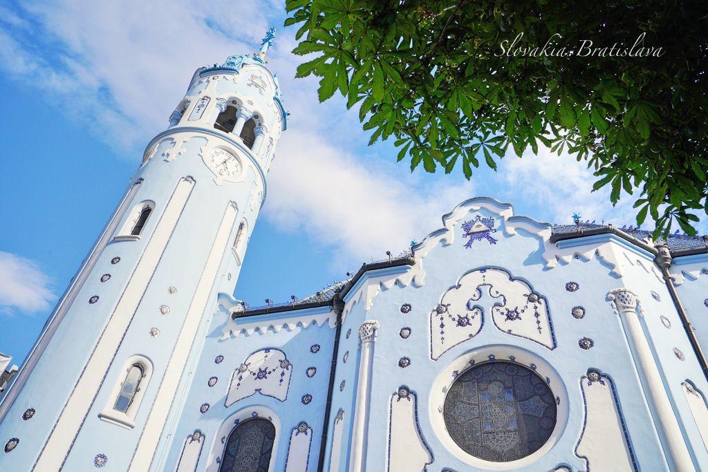 斯洛伐克 | 原來童話故事裡的夢幻城堡真的存在,前往布拉提斯拉瓦就是為了「藍色教堂 Kostol svätej Alžbety」( 聖伊麗莎白教堂 ) | 交通路線、參觀時間、拍攝建議 @偽日本人May.食遊玩樂