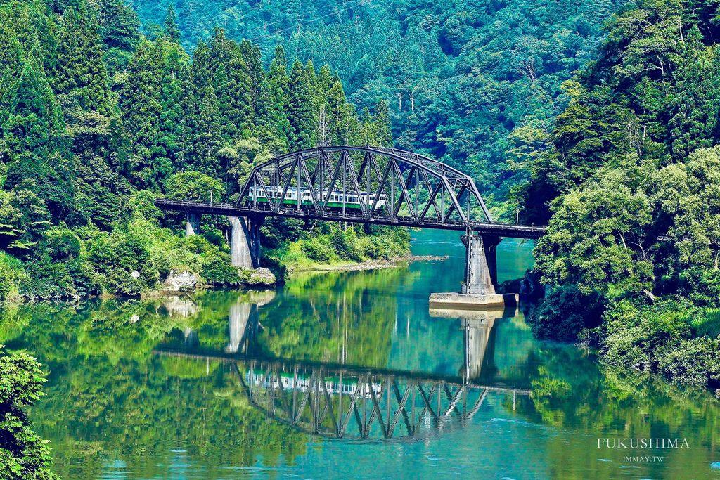 夢幻鐵道絕景只見線、第四鐵橋攝影攻略 | 只見線時刻表、拍攝地點、建議拍攝時間、地圖座標及連結、交通路徑影像 @偽日本人May.食遊玩樂