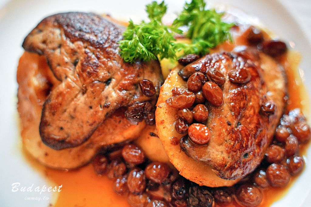 匈牙利、布達佩斯 | 米其林等級的超高人氣餐廳 Kiskakukk Restaurant | CP值超高的美味鵝肝 ( 布達佩斯推薦美食、附菜單連結 ) @偽日本人May.食遊玩樂