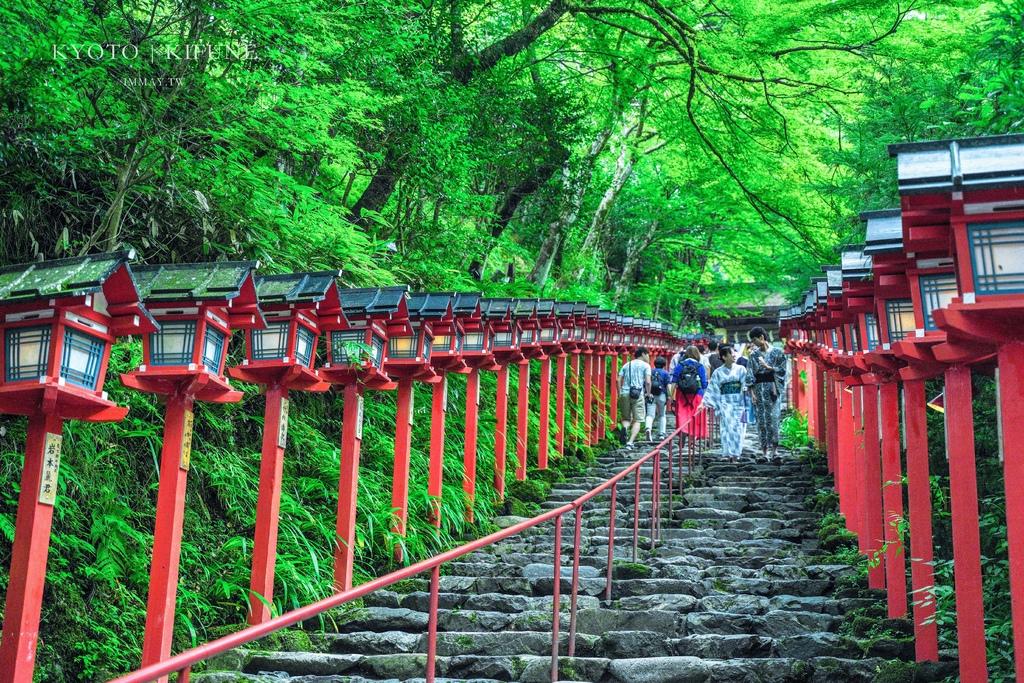京都旅行提案 | 貴船神社一日遊行程懶人包 ( 水占卜/ 繪馬發源地、路線規劃、交通建議、きらら列車搭乘體驗 ) @偽日本人May.食遊玩樂