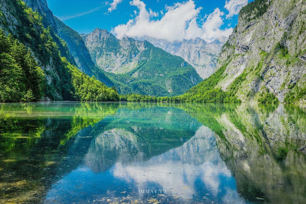 德國 | 猶如天堂般的純淨倒影「國王湖 Königssee」| 德國必訪的人間仙境 ( 附詳細交通資訊、行程路線規劃、攝影建議 ) @偽日本人May.食遊玩樂