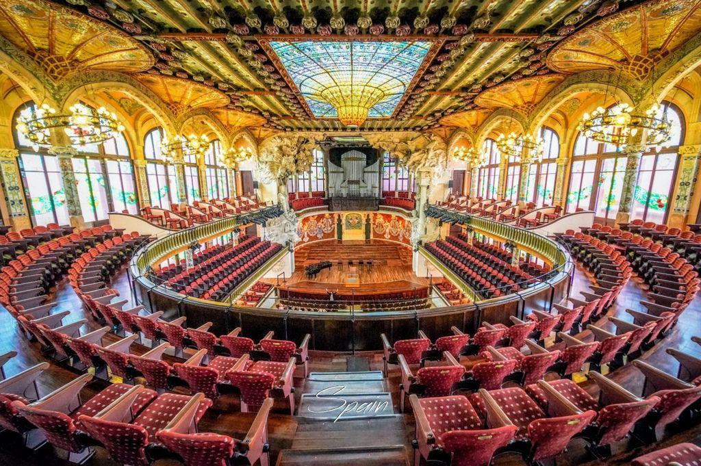 西班牙、巴塞隆納 | 華麗絢爛的表演殿堂「加泰隆尼亞音樂宮 Palau de la Musica Catalania」 | 門票資訊及開放時間、交通路線、免排隊方式 @偽日本人May.食遊玩樂