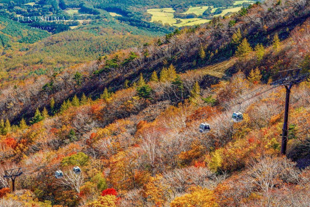 福島、二本松 | 搭乘纜車輕鬆登山趣、日本百名山「安達太良山」| 秋季追紅葉、冬季滑雪樂 ( 福島自駕行程景點 ) @偽日本人May.食遊玩樂