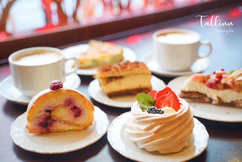 愛沙尼亞、塔林美食推薦 | 在色彩繽紛的童話世界裡飄香百年的Maiasmokk Cafe。塔林最古老咖啡店、甜點推薦 @偽日本人May.食遊玩樂