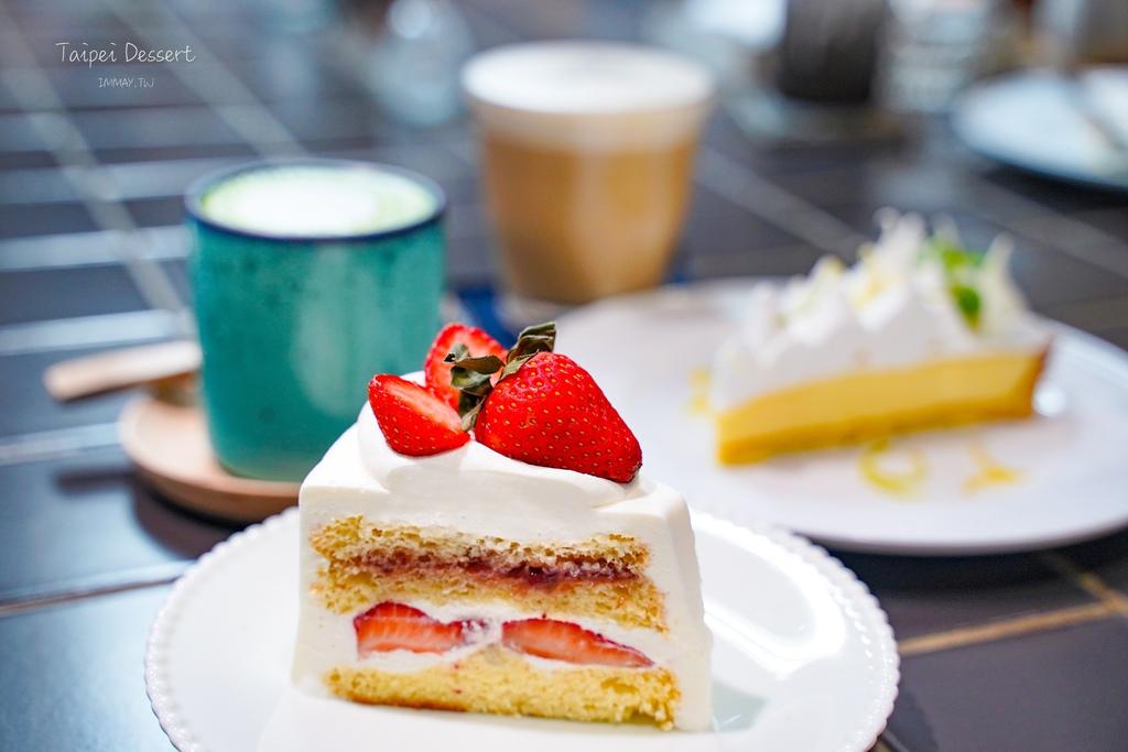 新北、板橋 | 隱身巷弄中的人氣手工甜點店舖「 點點甜甜Ten Ten Den Den 」| 板橋超人氣排隊名店、抹茶戚風蛋糕、各式手作甜點 @偽日本人May.食遊玩樂